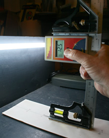 Fig. 10:  Recording from a Fluorescent Tube on Test